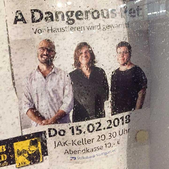 Jakob Obleser Dangerous Pet Aushang Termine