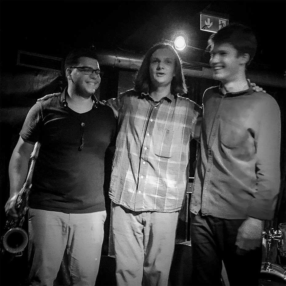 ORK · Dan Roncari, Jakob Obleser, Lucas Klein · Stuttgart, August 2019