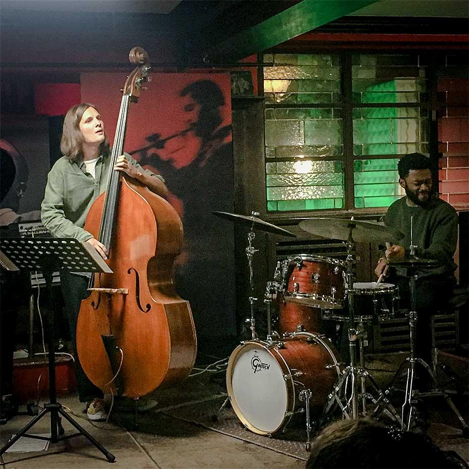 Marie Kruttli Trio · Jakob Obleser · Jonathan Barber · Stuttgart 2019