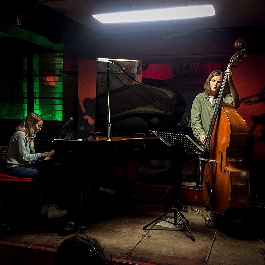 Marie Kruttli Trio · Marie Kruttli · Jakob Obleser · Stuttgart 2019